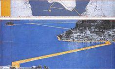 Il ponte fluttuante di Christo sul lago d'Iseo, 3 chilometri di fascino e arte - Brescia - Il Giorno