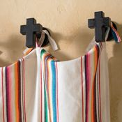 Cross Drapery Tie-Back