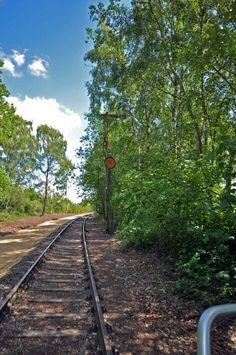 Zomervakantie - Draisine fietsen - Groesbeek - Je fietst over spoorrails die niet meer gebruikt wordt door treinen.- kidseropuit.nl - Grenzland Draisine
