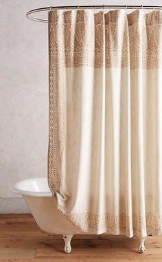 Misona Shower Curtain #anthrofave