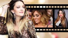 Love this look! Drew Barrymore, Miley Cyrus and Khloe Kardashian have rocked more dramatic rapid ombré hair color