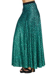 Rhaegal Dragon Egg Maxi Skirt - LIMITED (AU $130AUD) by Black Milk Clothing