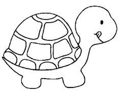 30 desenhos de tartaruga e jabuti  para colorir!