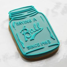 Love this Mason Jar Cookie Favors by http://www.whippedbakeshop.com
