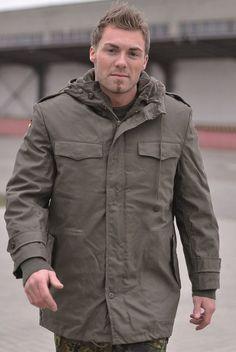 Mil-Tec BW Parka oliv mit Futter / mehr Infos auf: www.Guntia-Militaria-Shop.de