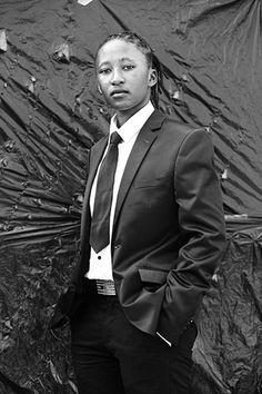 Zanele Muholi, Sharon Shez Mthunzi Daveyton Johannesburg, 2013. Image courtesy of Stevenson Gallery