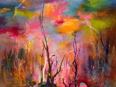 """Saatchi Art Artist Rikka Ayasaki; Painting, """"Ravissement 7108 (New creation! acrylic on canvas)"""" #art"""