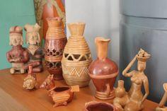Réplicas y cerámica decorativa, La Pila.Manabí. Foto:Celia López