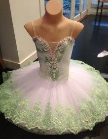 mint and pink, a little more pink on the skirt woud be lovely