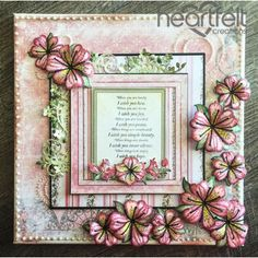 Heartfelt Creations - Lovely Lily Canvas Project