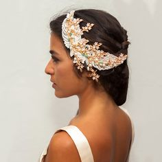We personalized all head pieces so we can addapt to your budget. www.cristinacardenas.es