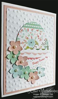 My Easter Card Class – Part 1: An Easter Egg! | RobinsCraftRoom.com | Bloglovin'