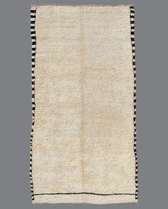 vintage Moroccan rug, Beni Ouarain #BO90