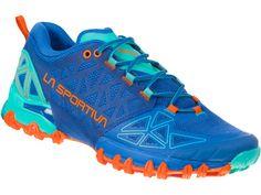 + DÁREK k objednávce - impregnace Granger`s Footwear. Model Bushido II jsou výborné dámské běžecké boty od firmy La Sportiva s opravdu luxusním designem. Mají speciální dvojitou podrážku, která poskytuje zvýšenou stabilitua maximální záběr při běhu. Bushido, Female Marines, Shops, Marine Blue, Trail Running Shoes, The North Face, Slip On, Sneakers, Women