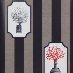 Aristote Wallpaper Wallpaper - Cowtan Design Library