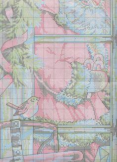Candy Cane Santa - 10/11 Solo Patrones Punto Cruz | Aprender manualidades es facilisimo.com