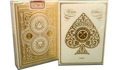 White Artisan Playing Cards By Theory11 MFG Bicycle United States Playing Card Company