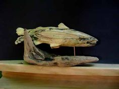 fishy looking driftwood