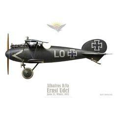 Albatros D.V, Ernst Udet, Jasta 37, hiver 1917 - Bravo Bravo Aviation #aviationcraft