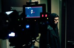 Rooney Mara, BTS in The Girl with the Dragon Tattoo