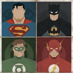superhero art for Oliver's room