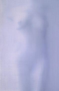 Grey Nude, oil on canvas, Alison Van Pelt