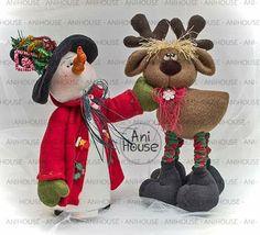 Christmas Crafts, Merry Christmas, Christmas Decorations, Xmas, Christmas Ornaments, Reindeer, Snowman, Holiday Fun, Holiday Decor