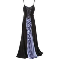blue velvet moonbeam dress