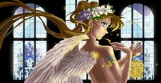 Moon Angel_(Sailor Moon) by Pillara