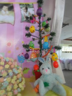 this is the actual DIY Easter Egg Tree Egg Tree, Easter Eggs, Party, Kids, Young Children, Boys, Parties, Children, Boy Babies
