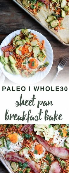 Paleo sheet pan breakfast bake | Empowered Sustenance | Whole30, gluten free