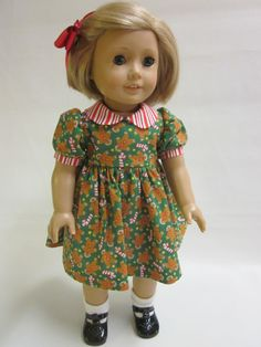18 inch American Girl Doll Clothes  Holiday by IndustriousDog, $12.00