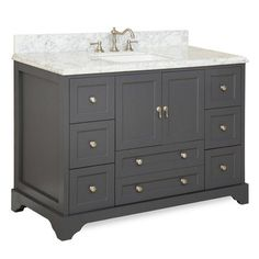 "KBC Madison 48"" Single Bathroom Vanity Set & Reviews 