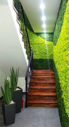 Eco-friendly stairs   #office #ironageoffice #greenoffice http://www.ironageoffice.com/
