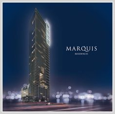New Developments | Marquis Residences, Sophisticated Condo Living In the Heart of the Arts & Entertainment Corridor of Downtown Miami, Florida