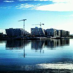 Sørenga, Oslo, Norway.