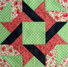 quilt block patterns printable | Starwood Quilter: Frolic Variation Quilt Block