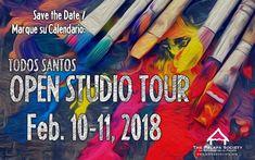 9th Annual Todos Santos Artists' Open Studio Tour, 10-Feb, Plaza del Pueblo, Todos Santos