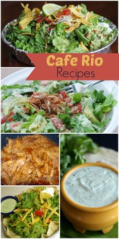 Cafe Rio Recipes - a