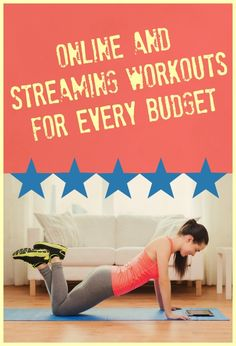 Kiss your workout excuses good-bye with these affordable online and streaming workouts!