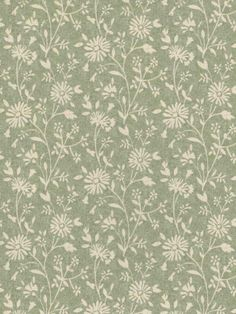 Interior Place - Light Green Small Daisies Wallpaper, $28.49 (http://www.interiorplace.com/light-green-small-daisies-wallpaper/)