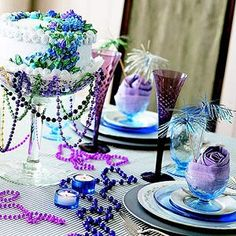 Throw a Mardi Gras Party from Better Homes and Gardens