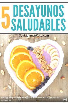 5 ideas para hacer desayunos saludables y coloridos =>Haz PIN para guardar. Con tan sólo frutas frescas y yogurt. Healthy breakfast