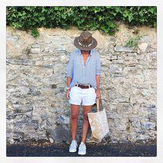 280716 Ce matin pour aller au marché ✔️ #ootd#bash#monop#stansmith#adidas#amenapih#starmela#instamode#instafashion#whatiamwearing#outfitoftheday#dailylook#iglook