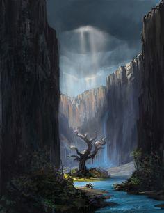 Tree Cavern fantasy