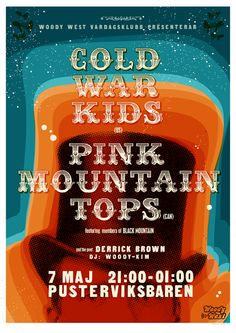 GigPosters.com - Cold War Kids - Pink Mountaintops