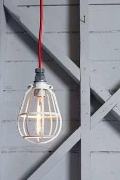 Industrial Lighting  Modern Cage Light  Metal Top by IndLights, $79.00