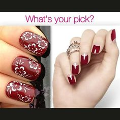 With this nail art inspiration, gear up for some manicure magic on your big day. What's your pick? #nailart #manicure #beautyritual #inspiration