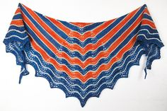 Ravelry: Sunset Bay shawl pattern by Cindy Garland Knitting Designs, Knitting Patterns, Natural Charcoal, Shawl Patterns, Blue Beads, Bold Colors, Baby Knitting, Color Combinations, Ravelry