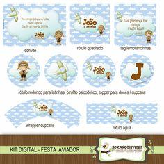 Kit Digital - Festa Aviador